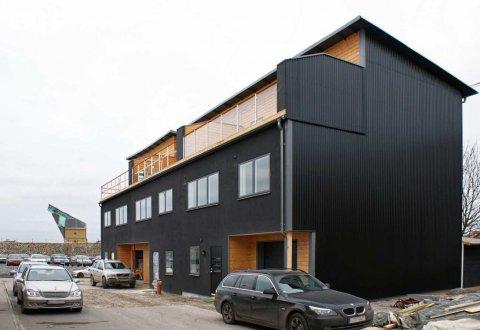 Budowa szeregówki w Karlskronie, Szwecja