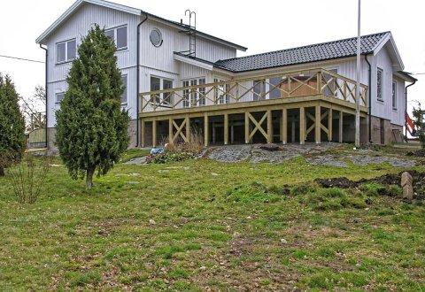 Budowa domu mieszkalnego koło Karlskrony, Szwecja