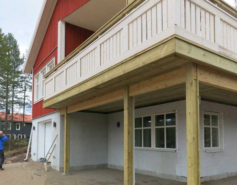 Budowa domu mieszkalnego, Szwecja