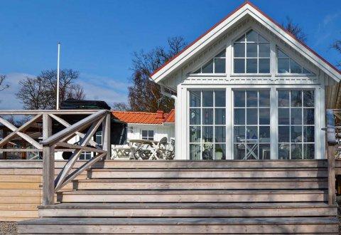 Budowa domu z basenem w Skonevik, Szwecja