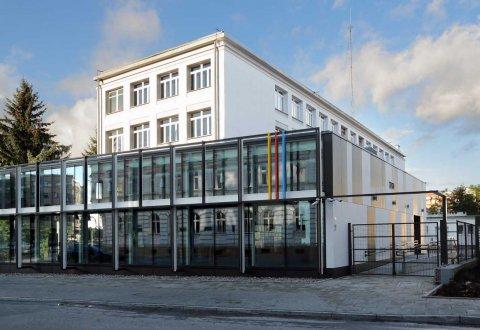 Budowa galerii dla Liceum Plastycznego im. E. Mendelsohna w Olsztynie