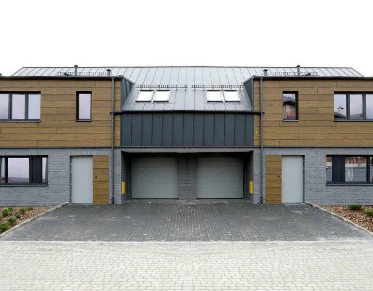 Budowa zespołu budynków w zabudowie szeregowej, Gdańsk