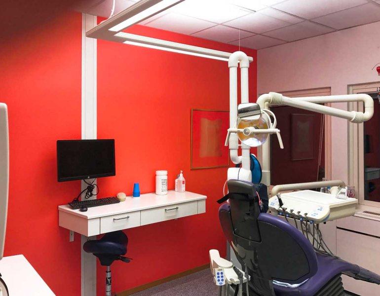 Przebudowa pomieszczeń dla kliniki dentystycznej, Ronneby, Szwecja