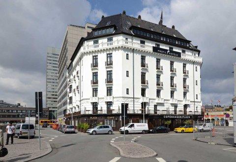 Remont elewacji Hotelu Plaza, Kopenhaga, Dania
