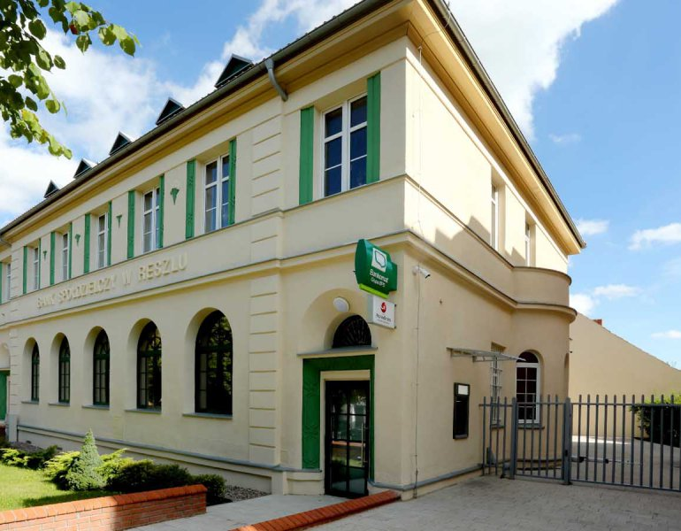 Remont zabytkowego budynku Banku w Reszlu