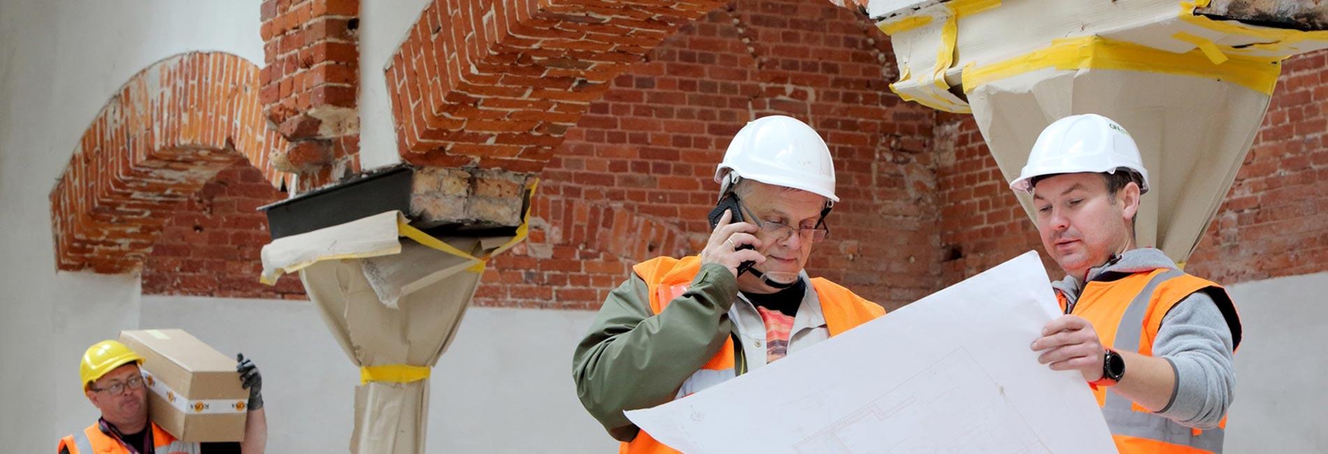 Praca w firmie budowlanej