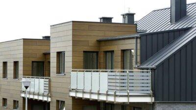 Bariery balkonowe, domy szeregowe Gdańsk