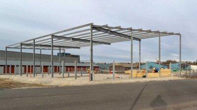 Wykonanie i montaż konstrukcji hal stalowych, Szwecja